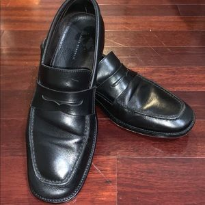 Banana Republic Italian Black Loafers